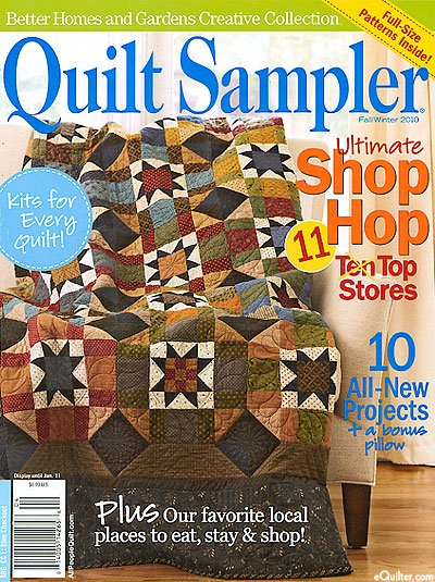 Magazine Better Homes And Gardens Creative Collection Quilt Sampler Magazine 2010 Fall Winter