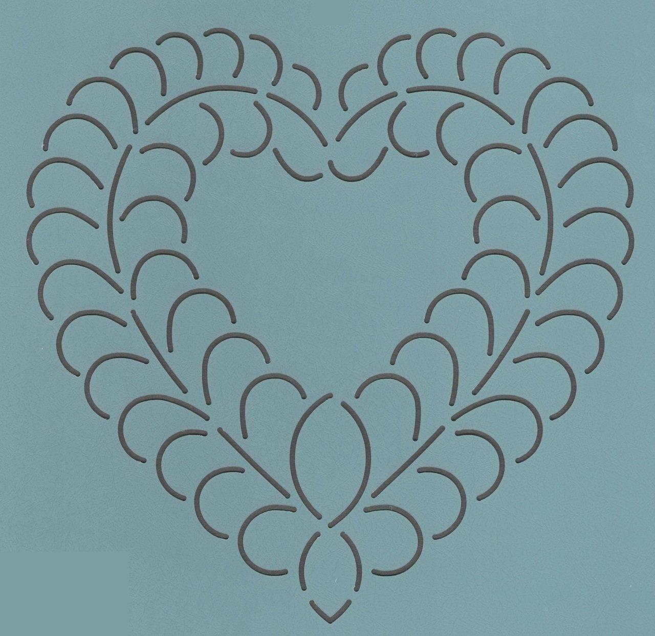 Free Heart Quilting Stencils : QUILT NOTIONS: Stencils