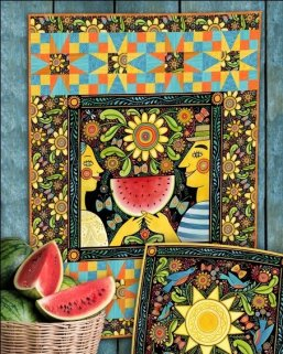 In the Beginning - Four Seasons - Summer - Free Pattern