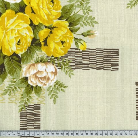 OUTBACK WIFE - AUTHENTIC BARKCLOTH - KIRSTINE - CREAM - 58 WIDE - TE 6010 C