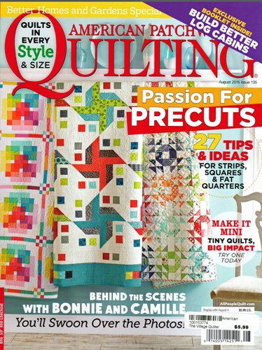 Better Homes And Gardens American Patchwork And Quilting Magazine August2015