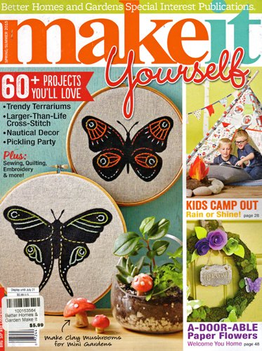 Better Homes And Gardens Make It Yourself Magazine Spring