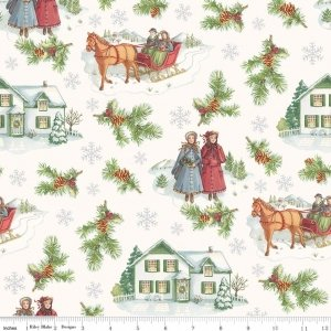 Penny Rose Anne of Green Gables Christmas C6490 Gray