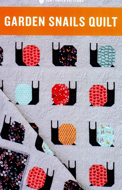 Garden Snails Quilt from Pen Paper Patterns