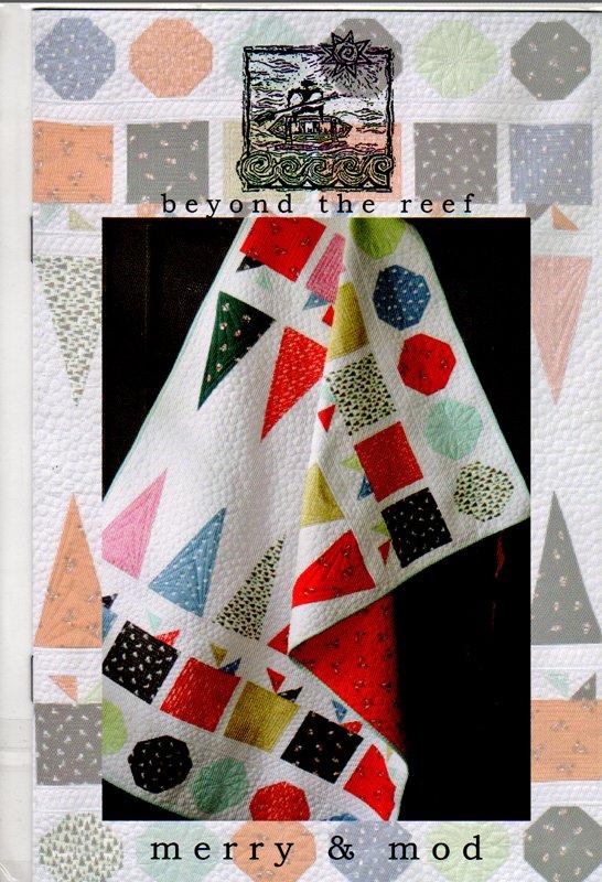 Merry & Mod Runner or Quilt Pattern