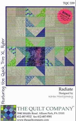 Radiate Quilt Pattern by Karen Montgomery : karen montgomery quilt patterns - Adamdwight.com