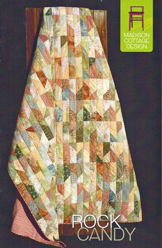 Rock Candy Quilt Pattern from Madison Cottage Designs