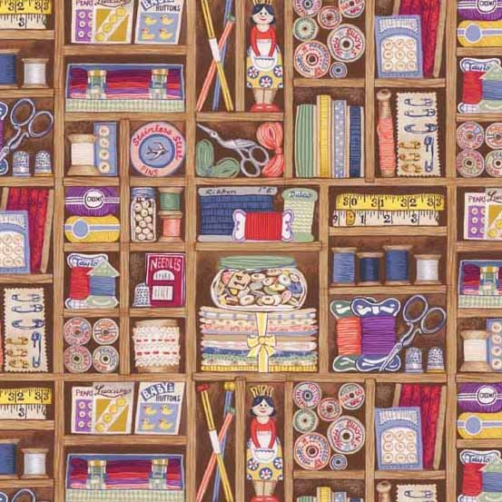 Andover - Haberdashery All over Sewing Theme TP 1699 1