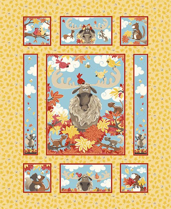 Mayfair Panel Bruce Light Gold