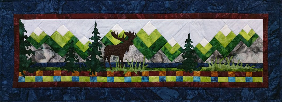 Moose Lake Kit Laser Cut Kit - Row by Row 2015