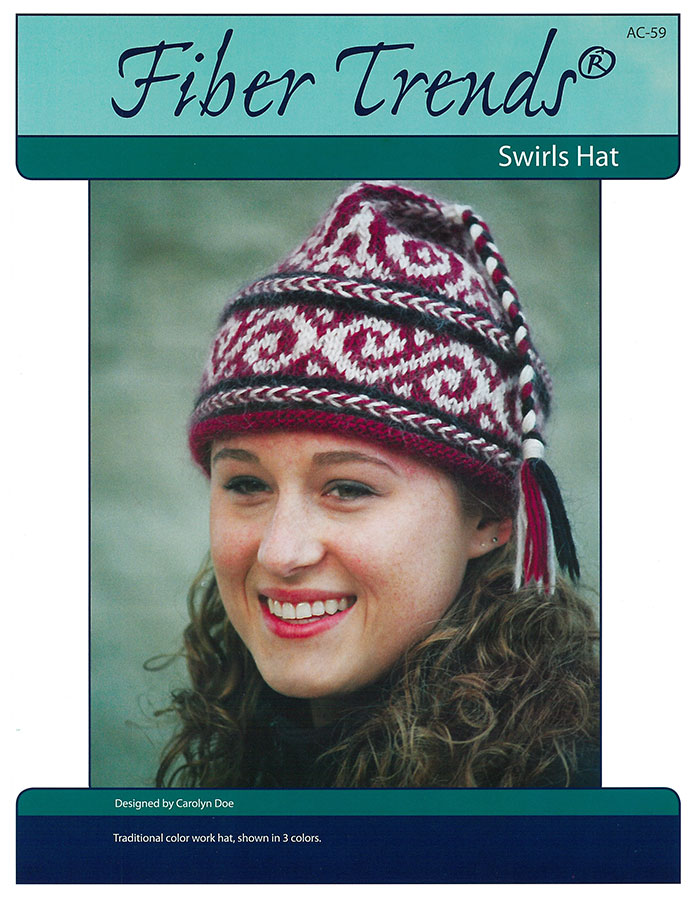 Fiber Trends Swirls Hat