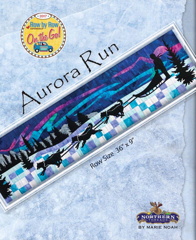 Aurora Run Pattern - Row by Row 2017