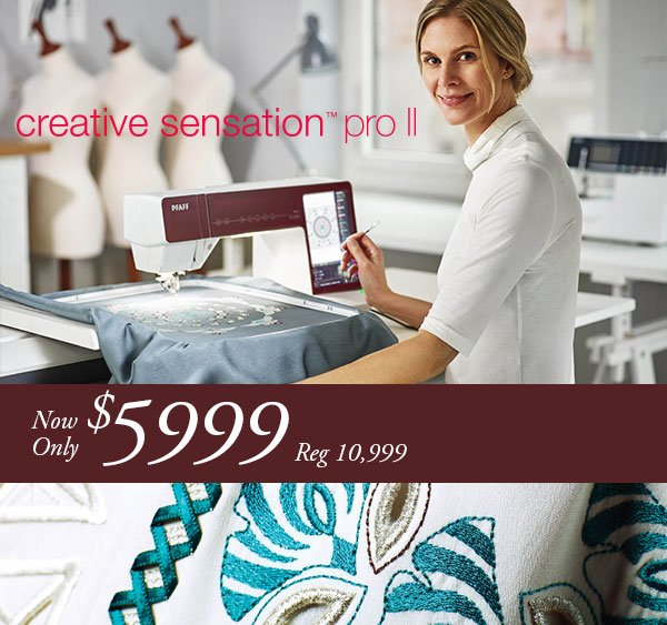 Pfaff Creative Sensation Pro II