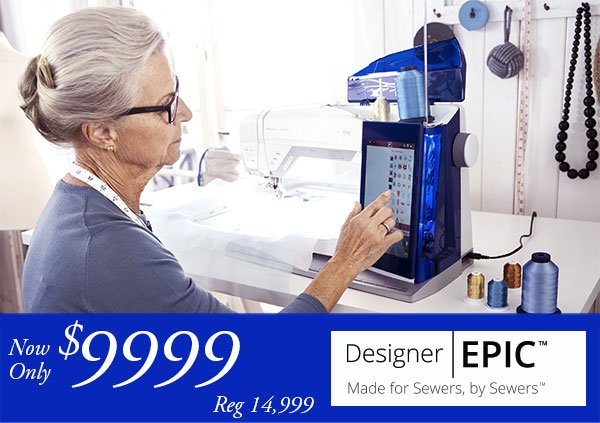 Epic Sewing & Embroidery Machine