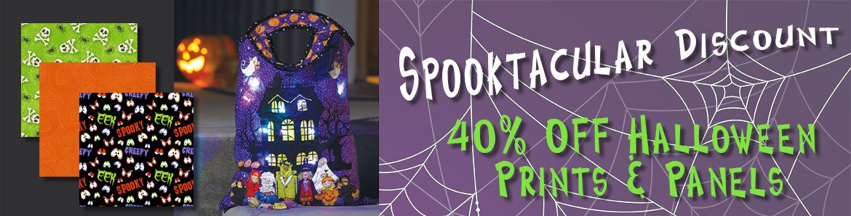Halloween Fabric Sale