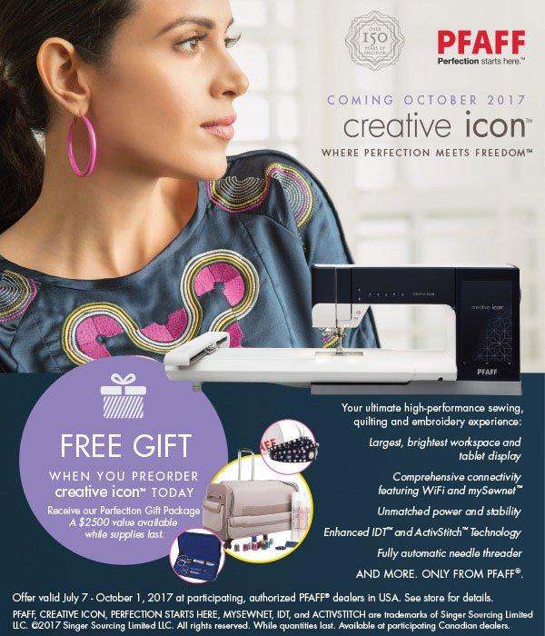 Pfaff Icon Pre Sale