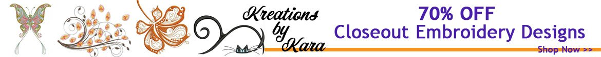 Kreations by Kara Design Sale