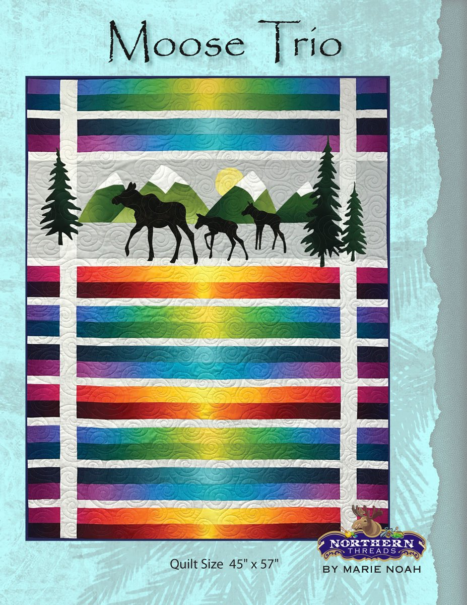 Moose Trio Pattern