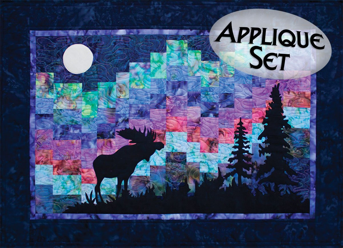 Northern Lights Pre-Cut Laser Applique Set