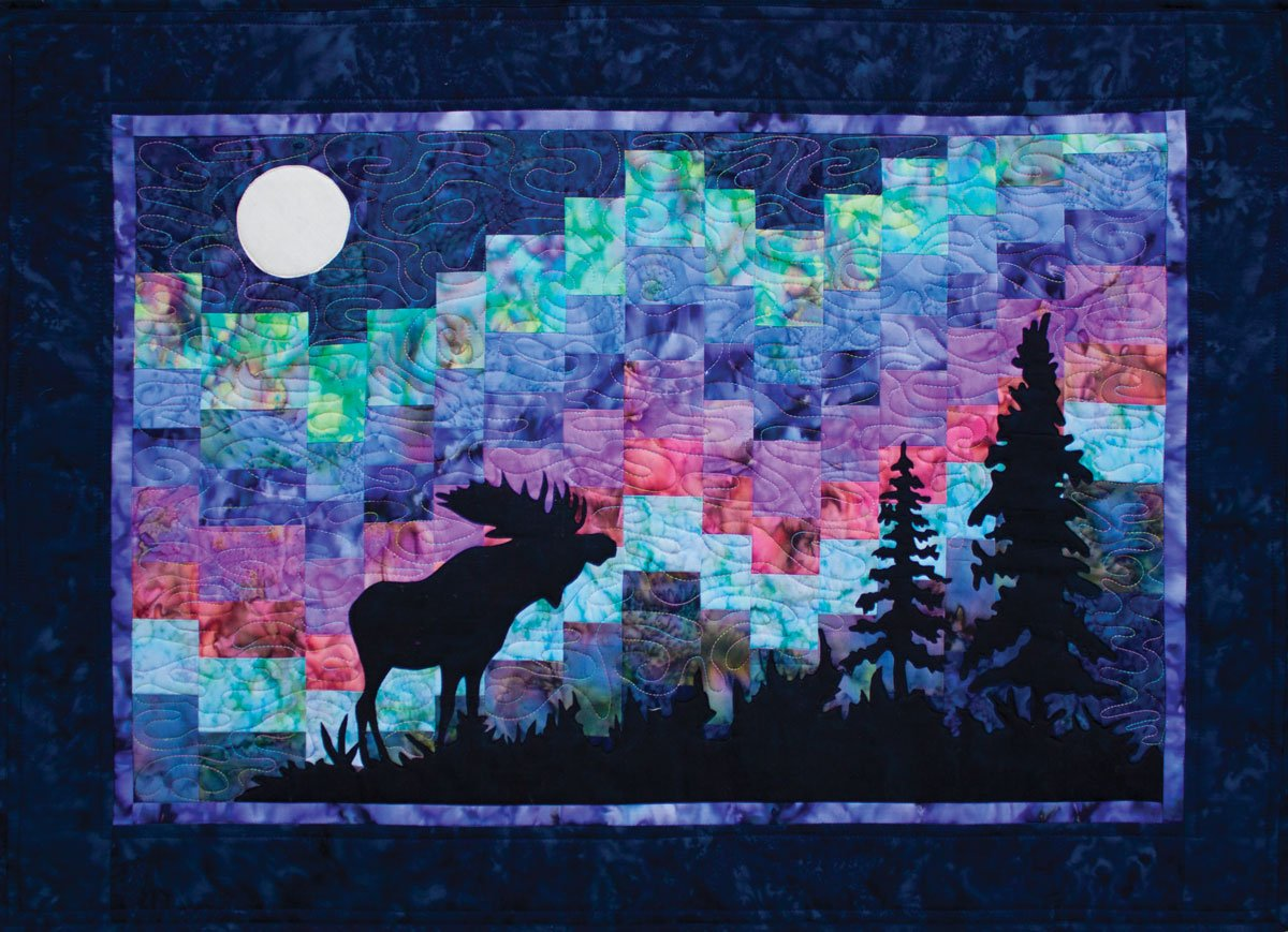 Northern Lights Laser Cut Quilt Kit