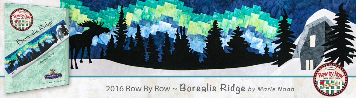 Row by Row 2016 Borealis Ridge