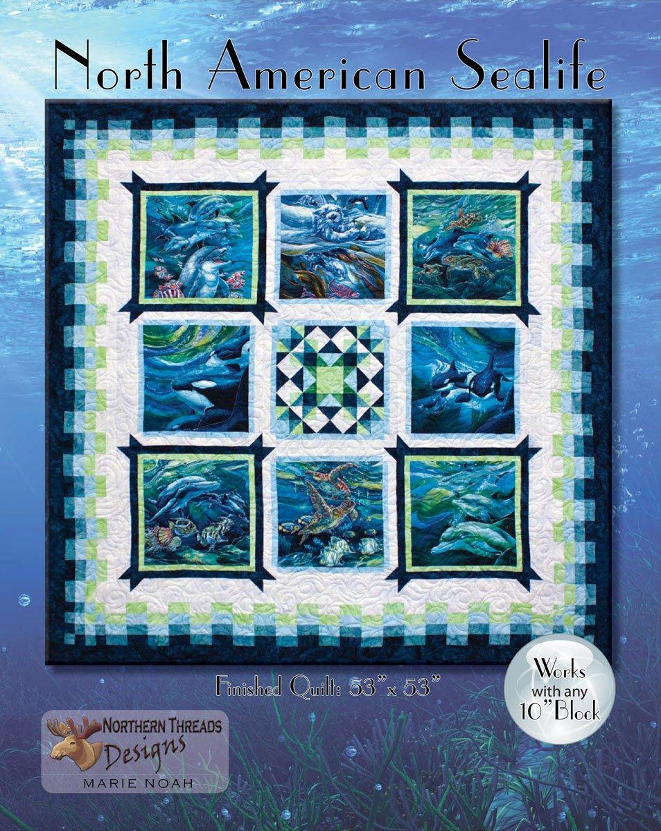 North American Sealife Pattern