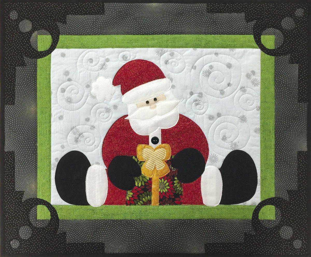 Straddling Santa Laser Cut Kit