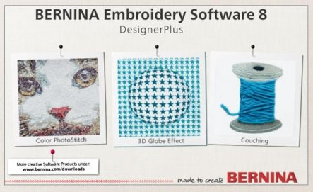 BERNINA Embroidery Software 8
