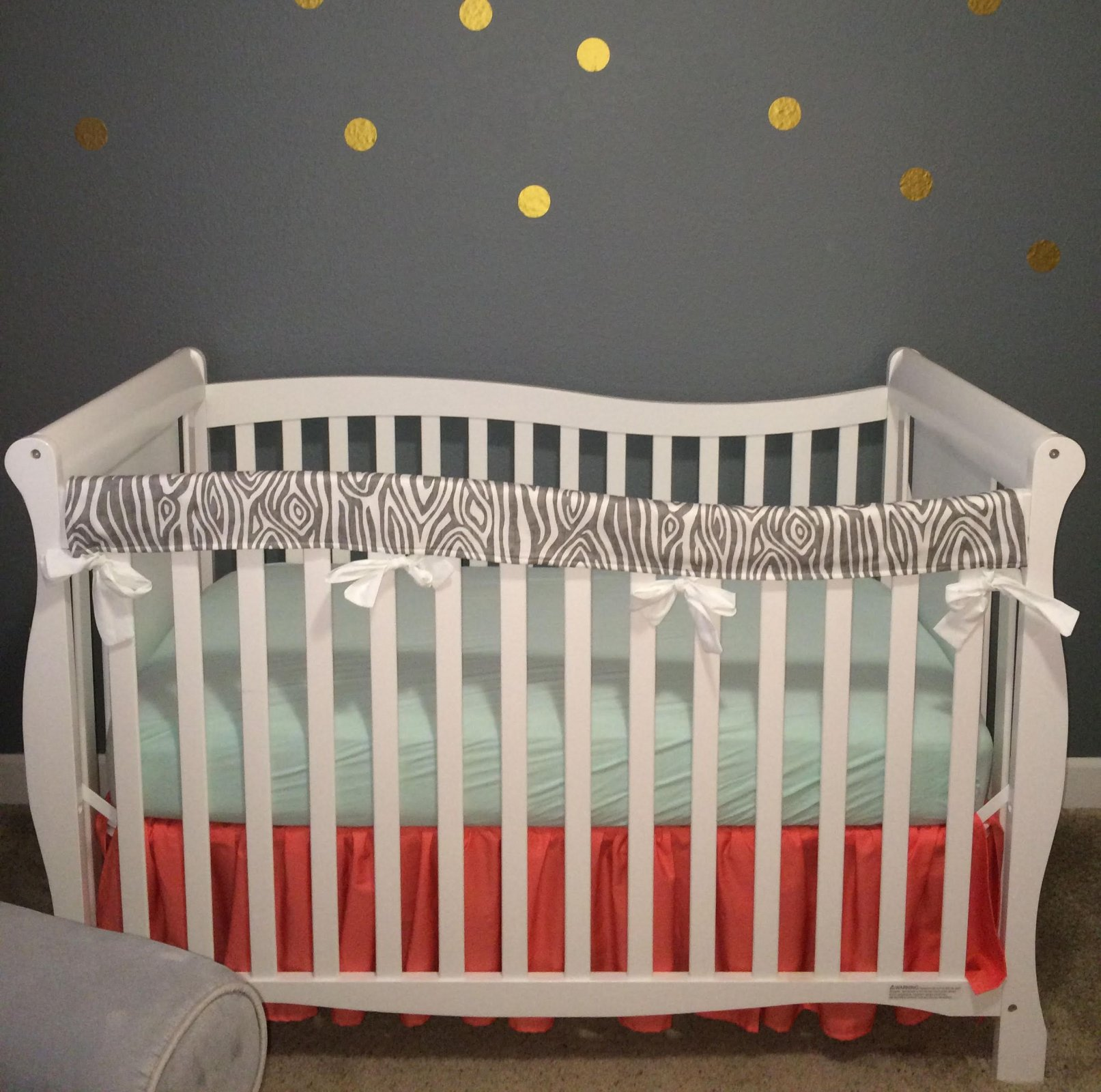 Crib Rail Cover - Long Side