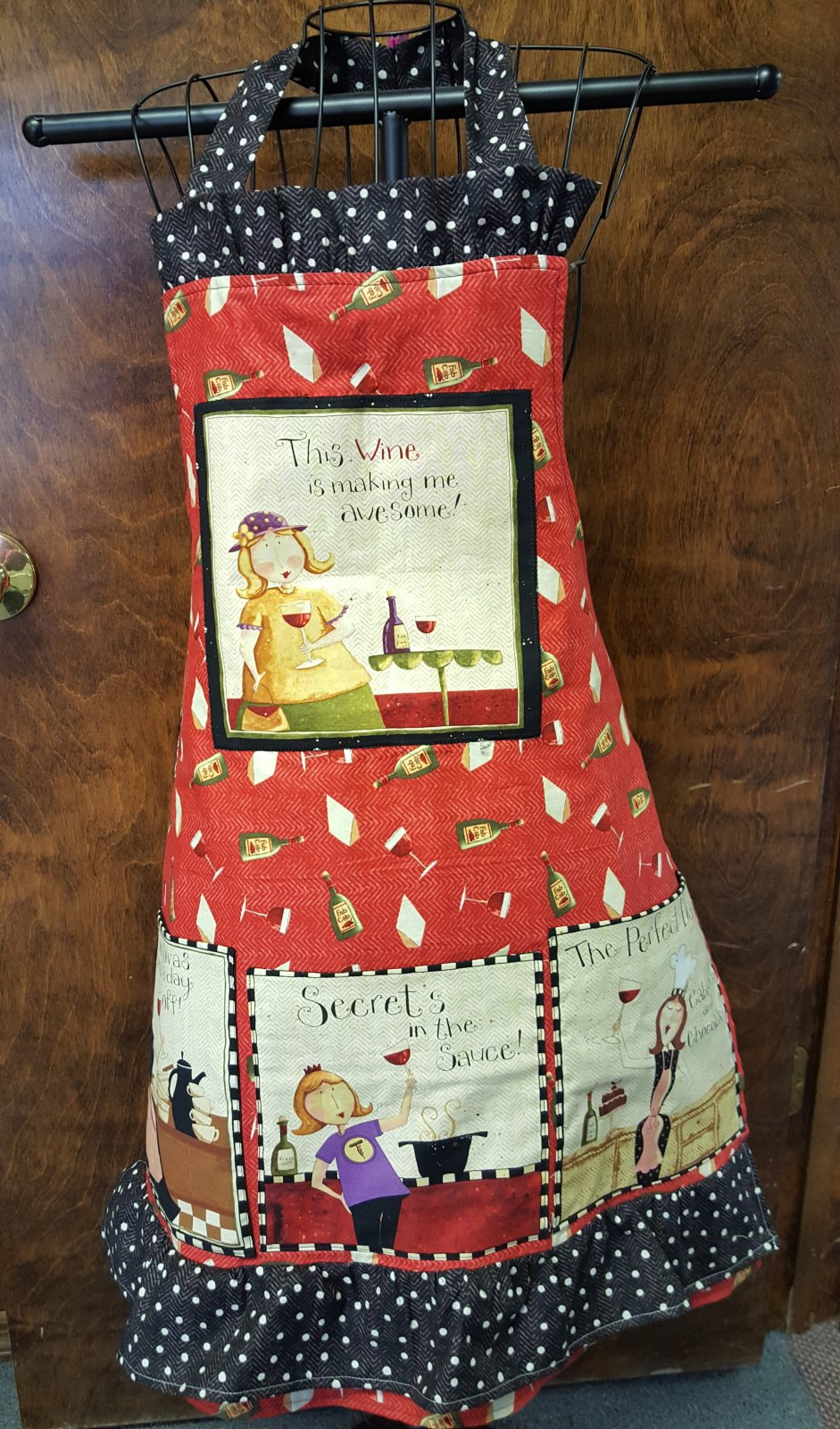 Wine Diva Apron Kit