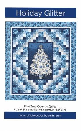 Holiday Glitter Panel Quilt Kit