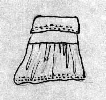 flippy skirt diagram