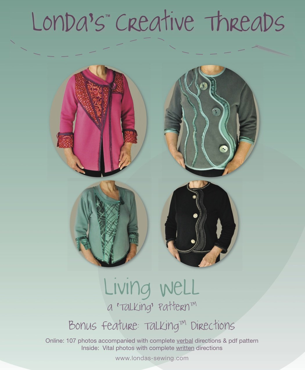 Living Well Talking Pattern Booklet - PDF Delivery