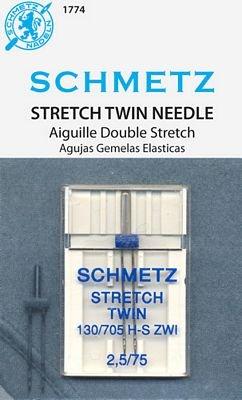 Schmetz Twin Stretch Needle (2.5/70)