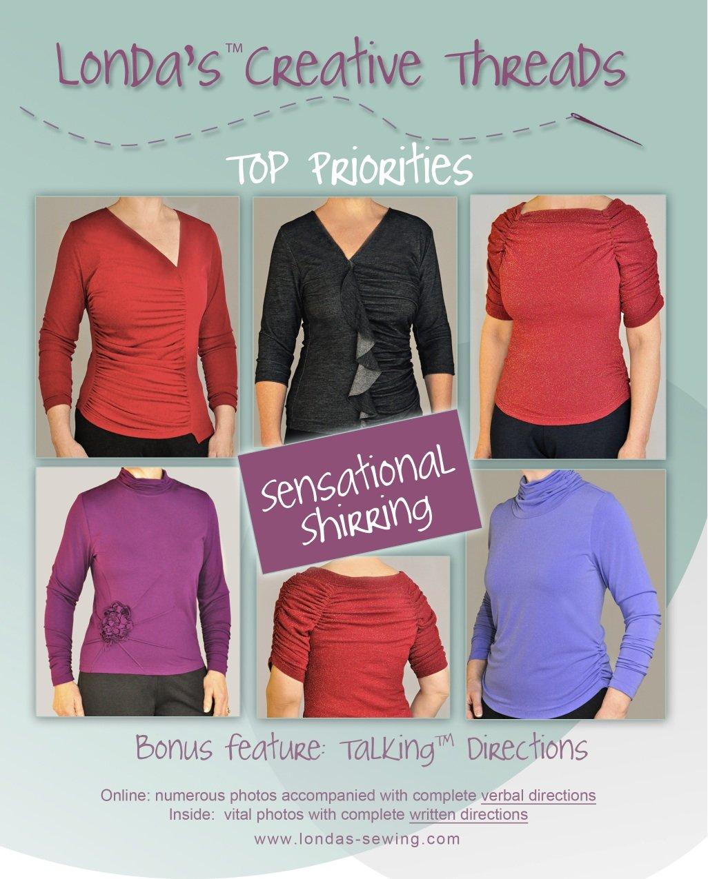 Sensational Shirring Talking Pattern Booklet - PDF Delivery