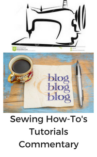 Londa shares on her blog as she sews
