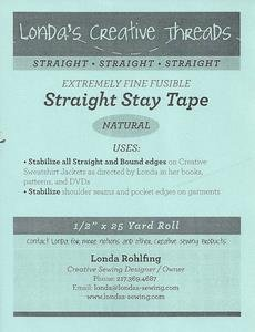 A-Straight Fusible Stay Tape
