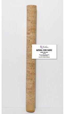 Natural Cork Fabric 1 yard x 27 wide