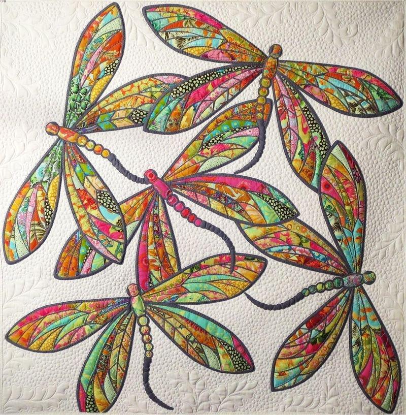 The Modern Dragonfly pattern by JoAnn Hoffman
