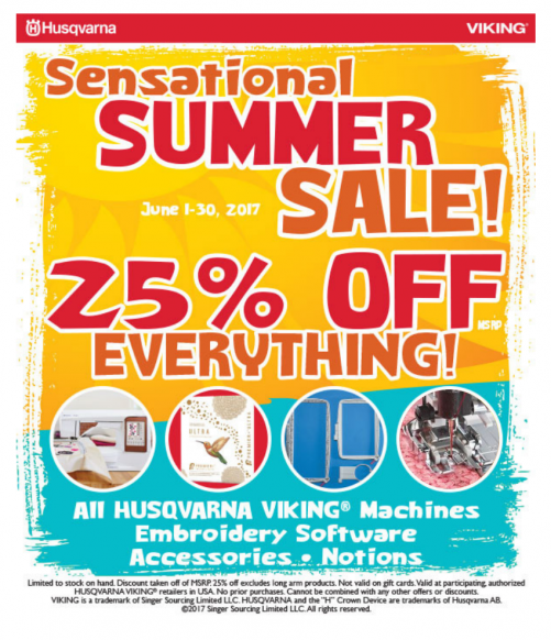 25% Off HV Products