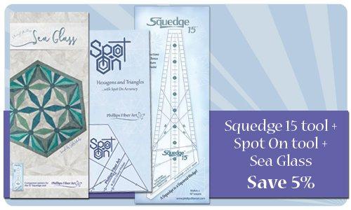 Squedge 15 Spot On Sea Glass Bundle