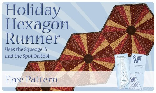 Holiday Hexagon Runner