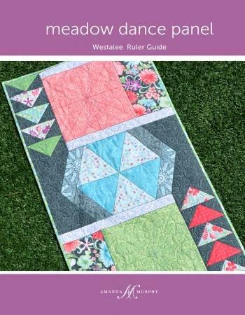 Meadow Dance Panel Westalee Ruler Guide
