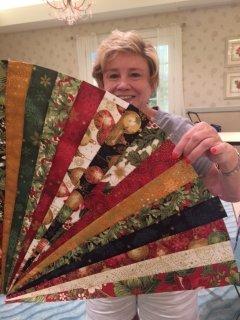 Char's Stunning Christmas fabric
