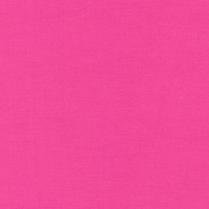 Robert Kaufman Kona - Bright Pink K001-1049