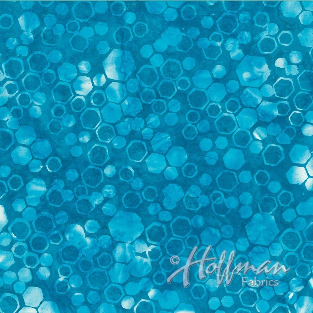 Hoffman Batik - P2015 361 Honey Comb Cabo