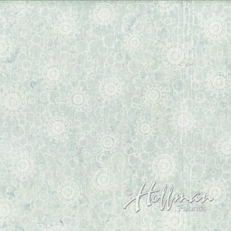 Hoffman Batik - P2030 477 Buttons Shave Ice