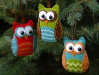 Hoot for the Holidays Ornament