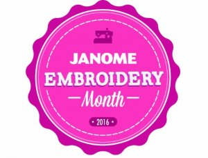 Janome free embroidery designs Embroidery Month