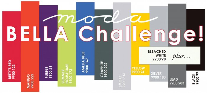 Moda Bella Solids Challenge